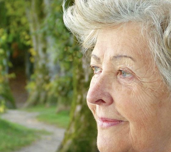 Seniorin Demenz