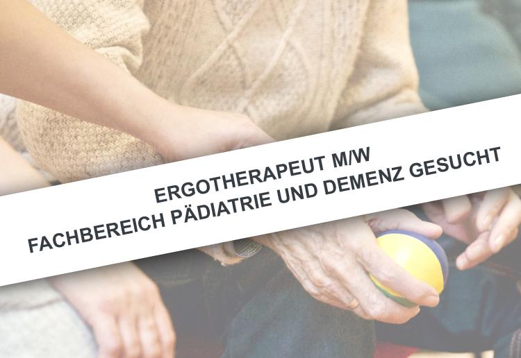 Stellenangebot Ergotherapeut m/w