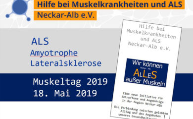 Plakat ALS Muskeltag 2