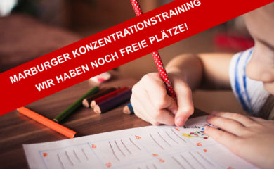 Marburger Konzentrationstraining für Kinder
