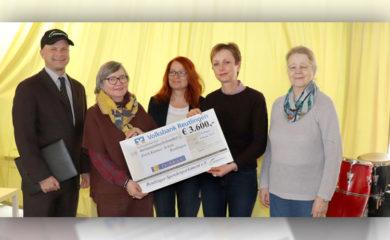 Spende des Spendenparlament Reutlingen an Trommel AG
