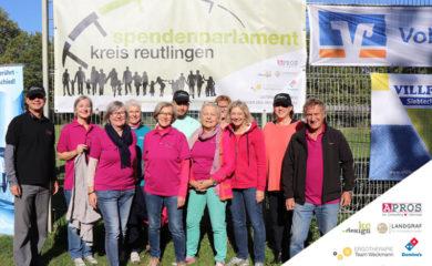 Spendenmarathon Gruppenfoto