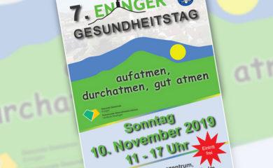 Einladung zum 7. Eninger Gesundheitstag