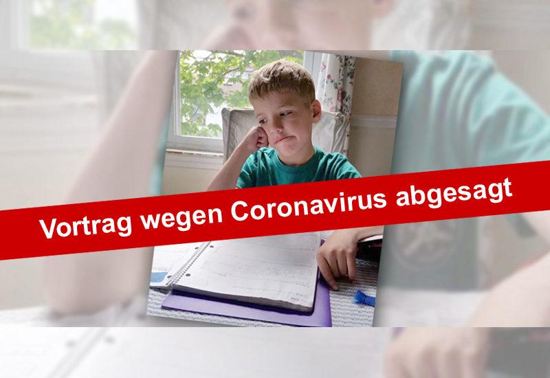 Vortrag Angelika Weckmann zu Schule, Kinder und Konflikte abgesagt