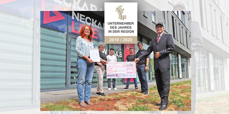 Angelika Weckmann als Unternehmerin des Jahres 2019/2020