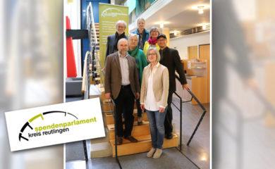 Gruppenfoto zum Jubiläum des Spendenparlament Reutlingen