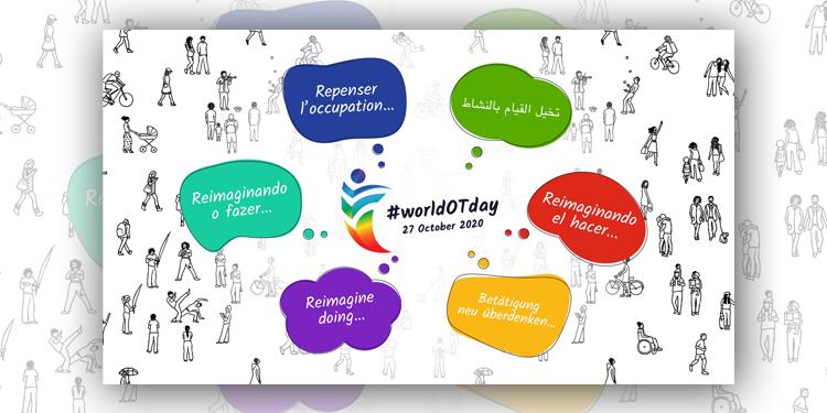 Welttag der Ergotherapie Plakat