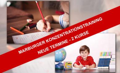 Neue Termine für die Kurse Marburger Konzentrationstraining